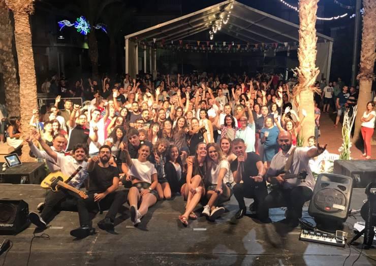 Noches fantásticas de música y gran participación en los juegos populares y la comida de mayores en las Fiestas 2018
