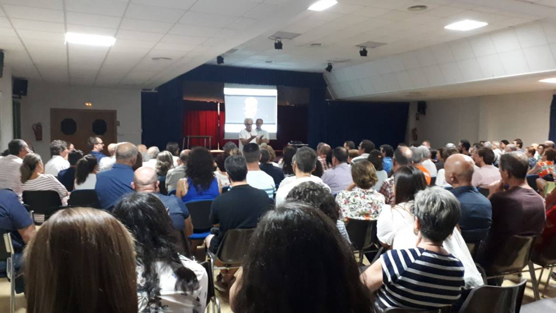Masiva asistencia a la conferencia 'La Almoloya: los últimos descubrimientos 2018'