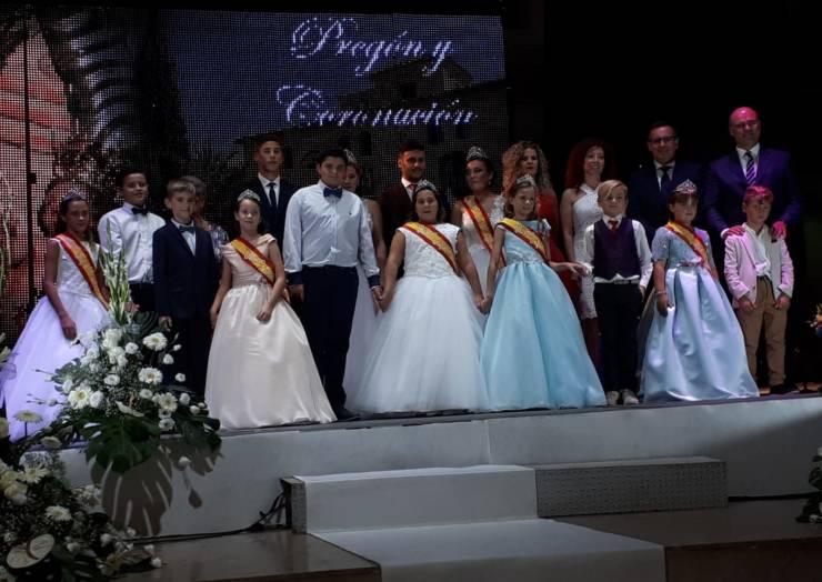 Pregón de las Fiestas, Homenaje a los abuelos y coronación de las Reinas 2018
