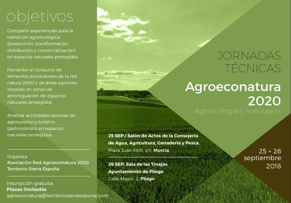 Este miércoles se celebran en Pliego las Jornadas Técnicas del Proyeco Agroeconatura 2020