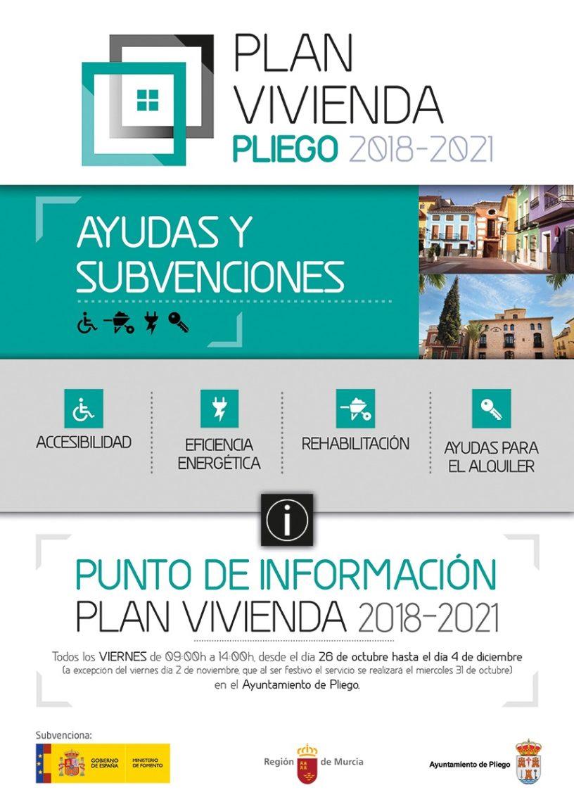 El Ayuntamiento habilita un punto de información para ayudas y subvenciones para alquiler, compra y rehabilitación de vivienda