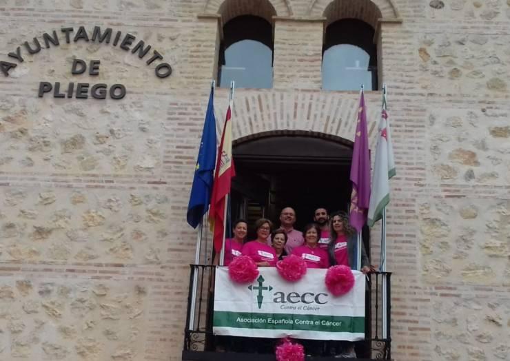 Pliego celebra el Día Internacional contra el cáncer de mama
