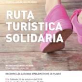Ruta Turística Solidaria por Pliego contra el cáncer de mama