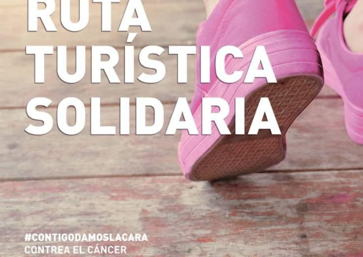 El sábado 20 se celebra la Ruta Turística Solidaria contra el cáncer de mama