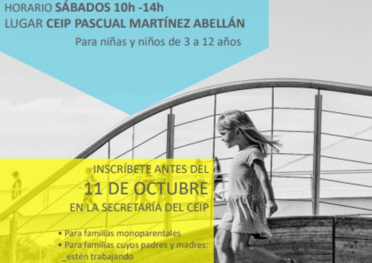 El Ayuntamiento de Pliego lanza la Sabadoteca, un programa que ayudará a la conciliación personal y laboral.