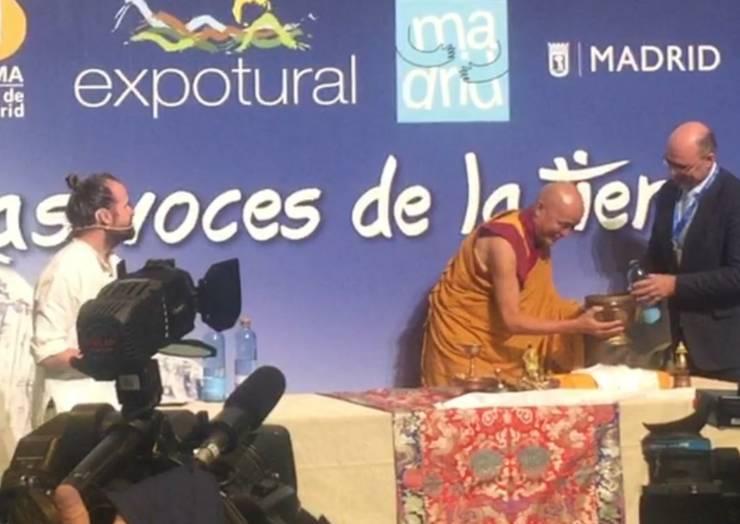 El alcalde de Pliego participó en Madrid en la ceremonia de inicio de la Feria Expotural representando el Territorio Sierra Espuña