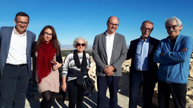 El Ministro de Cultura visitó Pliego y consideró la necesidad de invertir en La Almoloya