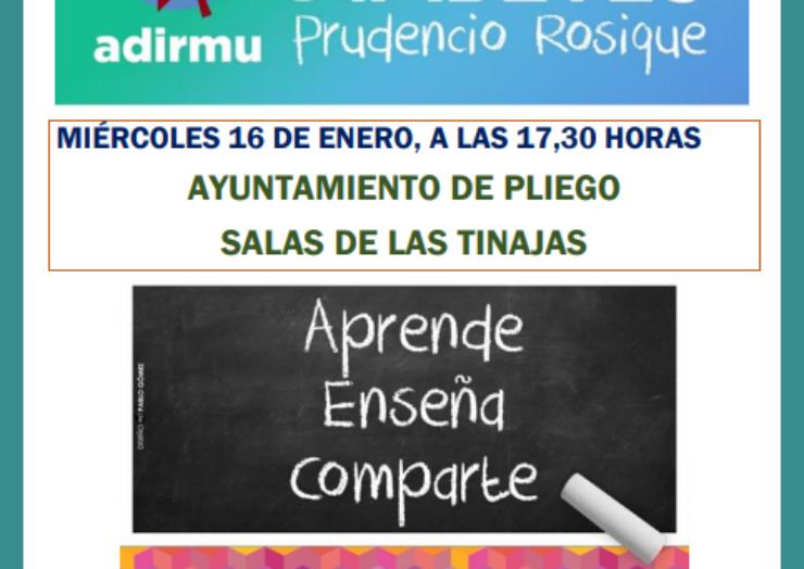 Este miércoles se realizará en Pliego una sesión de la Escuela de Diabetes Prudencio Rosique