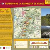 Esta tarde se presenta en el Ayuntamiento de Pliego la ruta del Sendero de La Almoloya.
