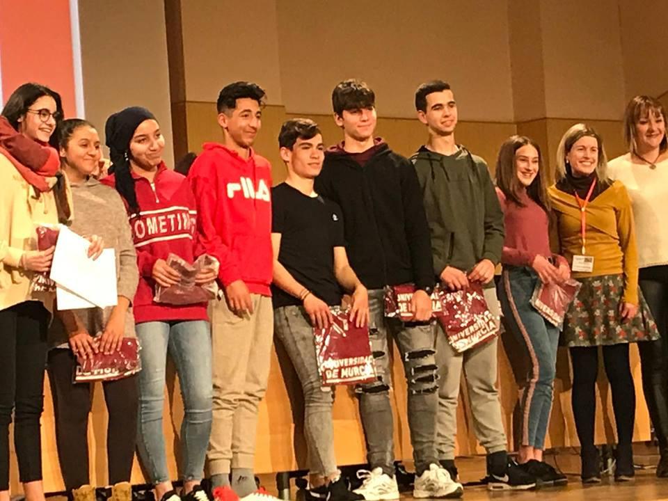Alumnos del IES Federico Balart premiados en la Universidad de Murcia