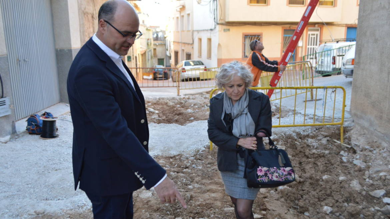 Han dado comienzo las obras en la calle Aduana pertenecientes al Plan de Obras y Servicios