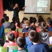 Aprendiendo sobre el yacimiento de La Almoloya en los centros educativos de Pliego