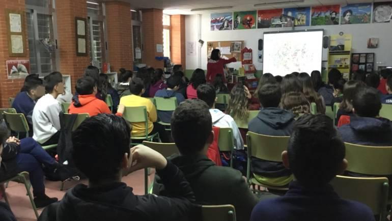 Charlas concienciando sobre el reciclaje en los centros educativos de Pliego