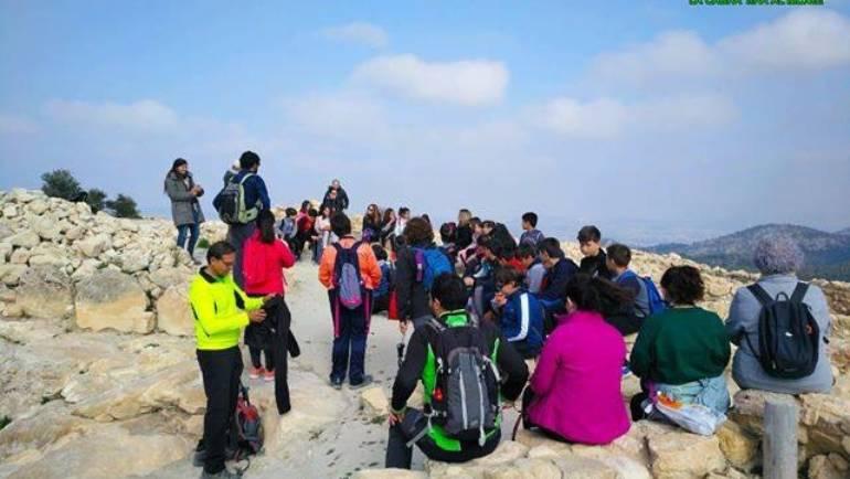 Excursión de escolares plegueros a La Almoloya
