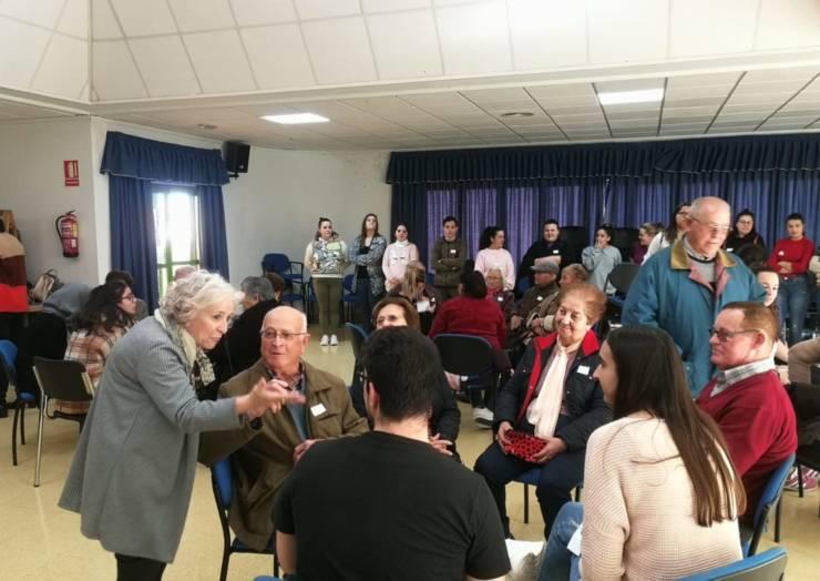 Taller del módulo de atención a personas mayores