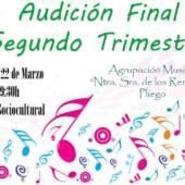 Audición final del segundo trimestre de la Agrupación Musical Nuestra Señora de los Remedios