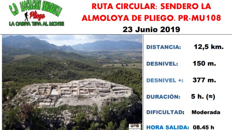 Ruta circular al sendero de La Almoloya