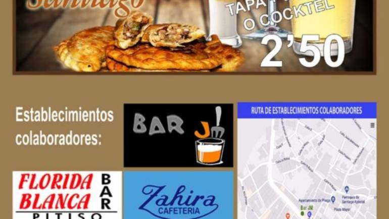 Este viernes da comienzo la IV Ruta Gastronómica Fiestas de Santiago