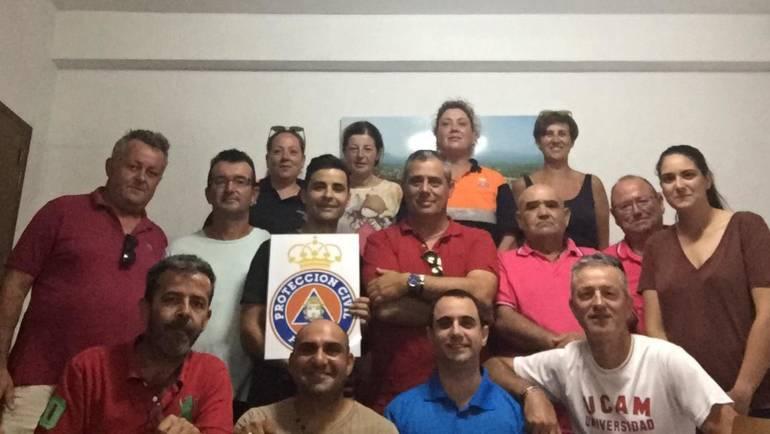 El alcalde visita las dependencias de Protección Civil