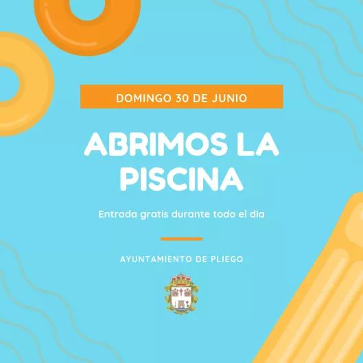 Este domingo es la jornada de apertura de la Piscina