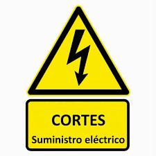 Aviso de corte de suministro eléctrico previsto para este domingo 30 de junio