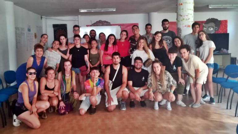 Buena participación en el primero de los talleres por la Diversidad