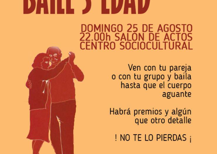 El próximo domingo 25 de agosto se realizará el primer Concurso de Baile para la Tercera Edad.