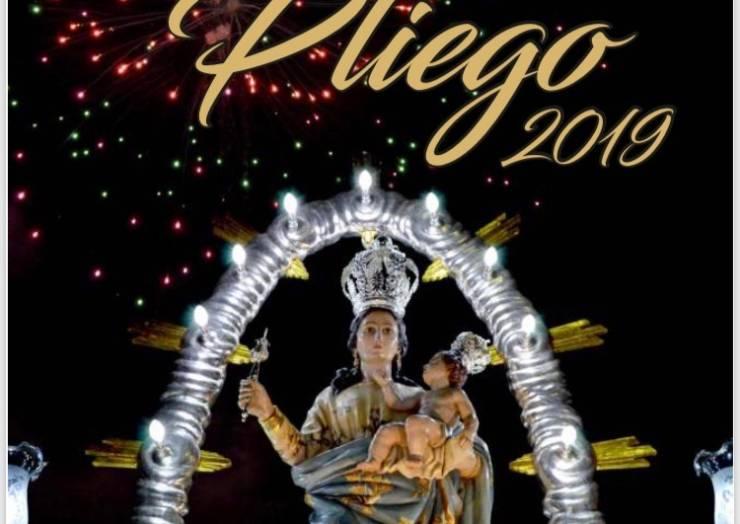Ya se conoce el amplio programa de las Fiestas Patronales de Pliego 2019