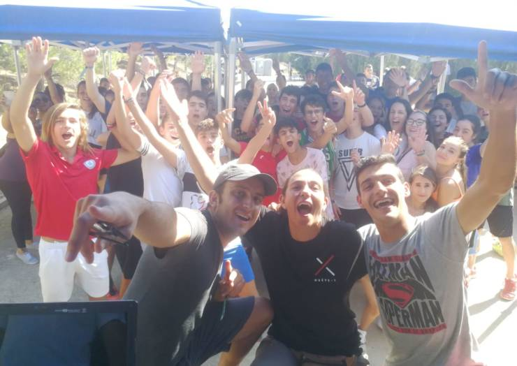 La juventud disfrutó al máximo con 'Young Festival'