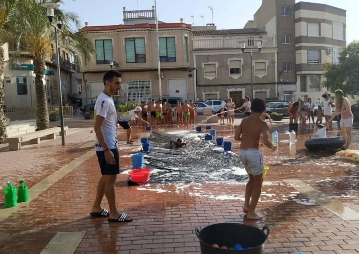 Máxima diversión en los Juegos del Agua