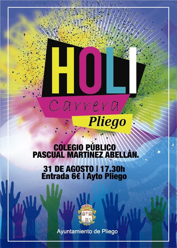 El 31 de agosto se realizará la colorida carrera Holi