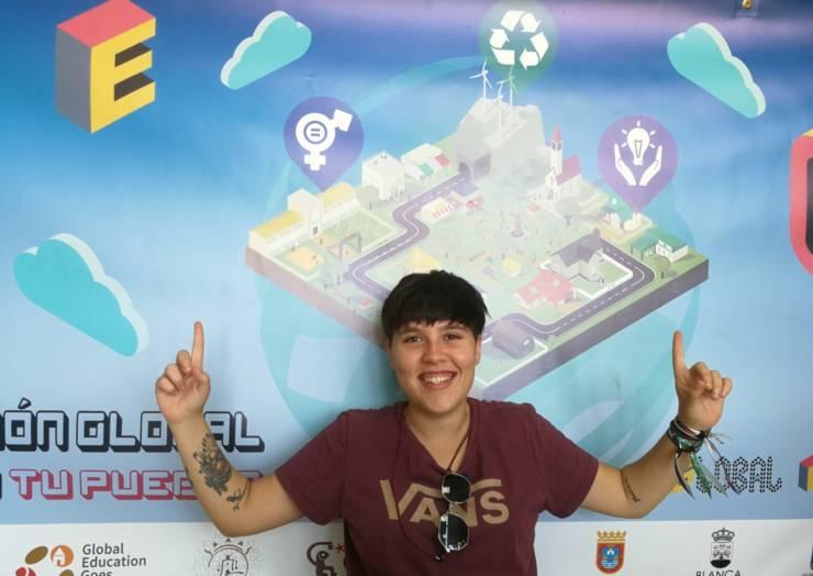 La joven pleguera Ana Sánchez representará a España en Lituania en el Proyecto GEGL