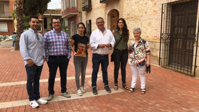 La Consejera de Turismo evaluó los daños del temporal en Pliego