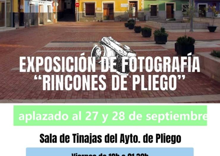 La exposición fotográfica prevista para este fin de semana se aplaza a finales de mes por el temporal
