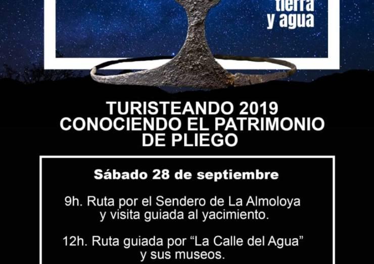 El próximo fin de semana se va a celebrar la Primera Edición de 'Turisteando 2019. Conociendo el Patrimonio de Pliego'.