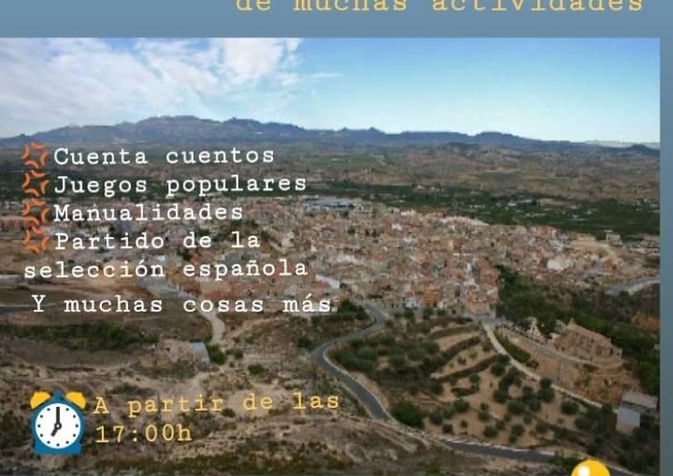 Pliego organizará diferentes actividades lúdicas para conmemorar el Día de la Hispanidad