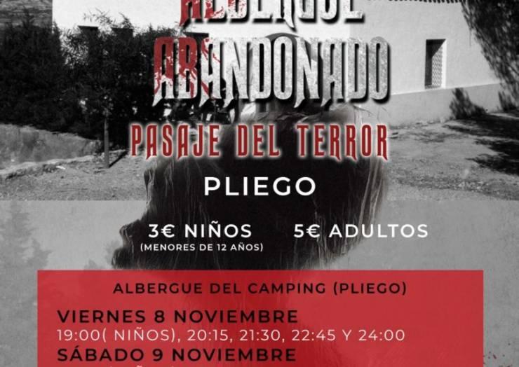 Se va a realizar en Pliego el pasaje del terror 'El Misterio del Albergue abandonado'