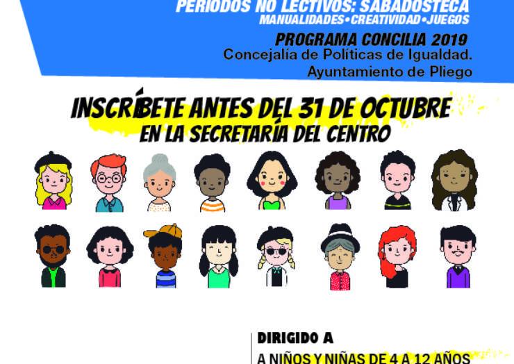 Abierto el plazo de inscripción en el Programa de sábadosteca «Mi familia concilia»