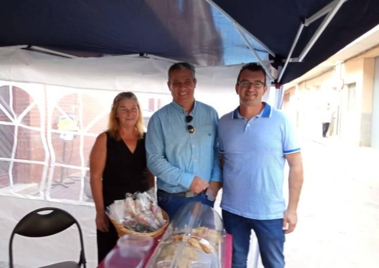Iniciativa solidaria para Los Alcázares de unos residentes belgas de Pliego