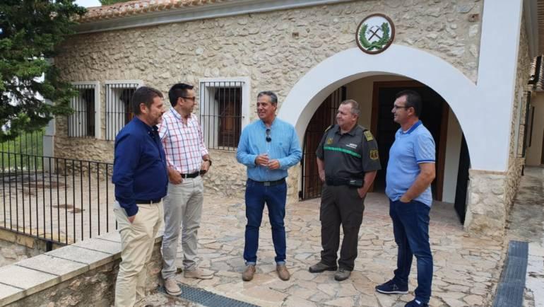El Director General del Medio Natural va a agilizar los trámites de la permuta del camping una vez presentados como corresponde