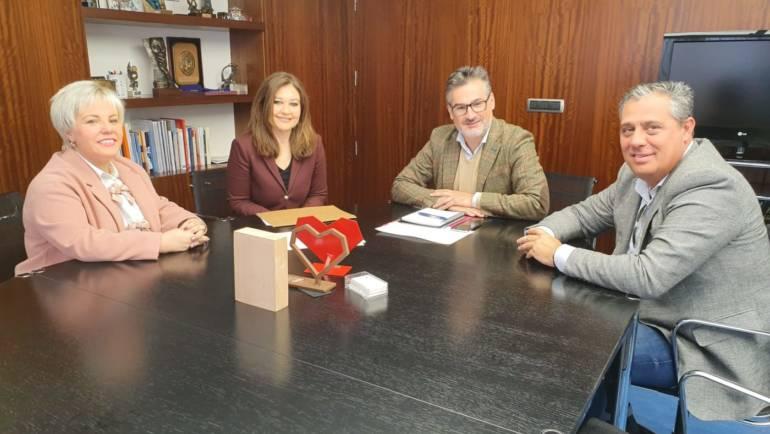 El alcalde de Pliego ha acudido a varias reuniones en Murcia para avanzar en cuestiones educativas importantes para el municipio