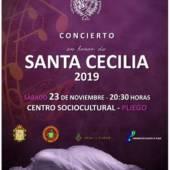 La Agrupación Musical Nuestra Señora de los Remedios ofrece su tradicional concierto por Santa Cecilia