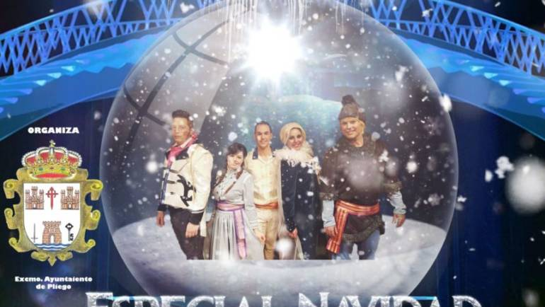 Estas navidades llega a Pliego el espectáculo «Tributo a Frozen»