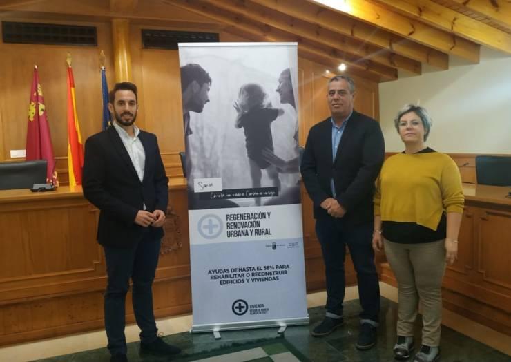 506.000€ destinados a la regeneración y renovación del centro y de viviendas de Pliego