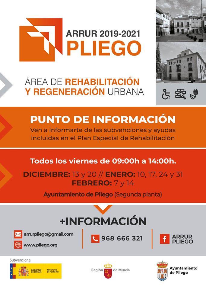 Programa ARRUR Pliego para rehabilitación de viviendas