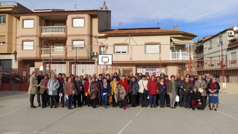 XV Jornadas Intergeneracionales entre abuelos, abuelas y el alumnado del ciclo de infantil del Colegio Público Pascual Martínez Abellán