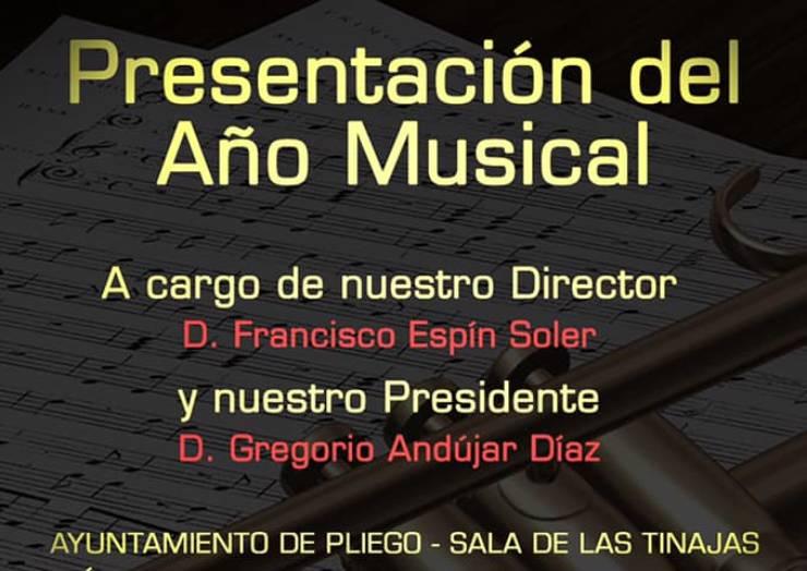Este sábado se realiza la presentación del año musical de la Banda de Música de Pliego