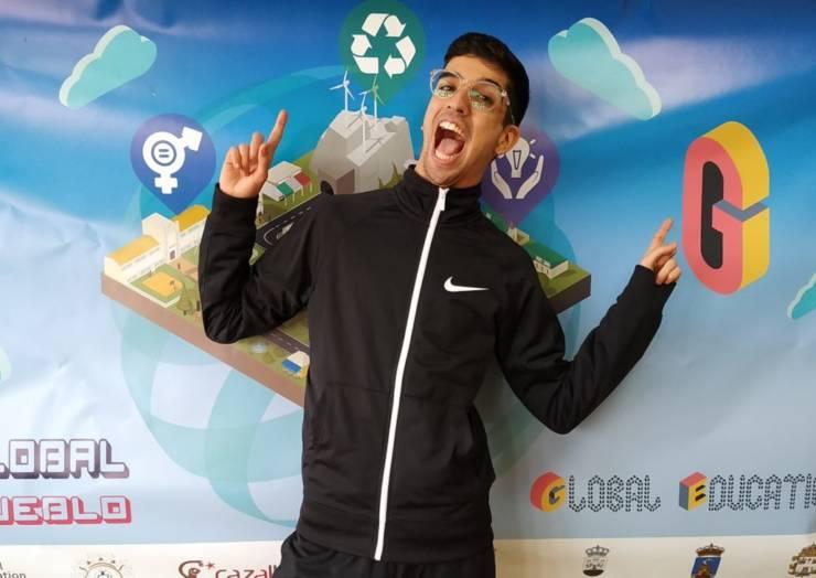 El pleguero Salva Cifuentes Huéscar representará a España en el encuentro juvenil internacional de Ghana