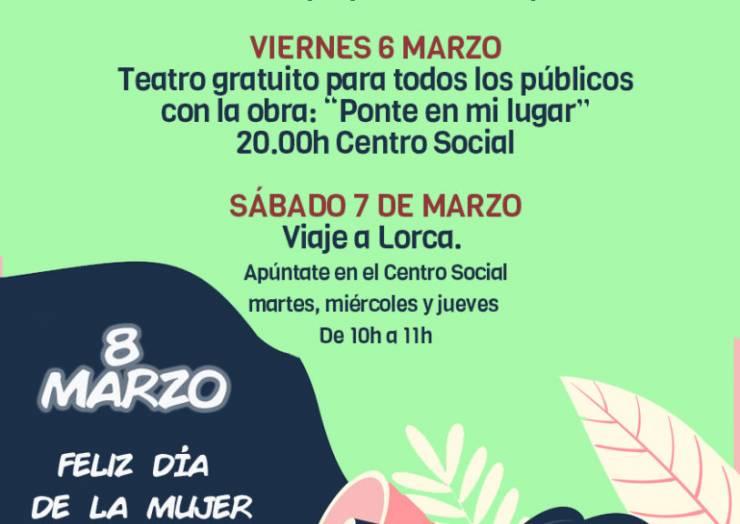 Presentadas las actividades para celebrar el Día de la Mujer