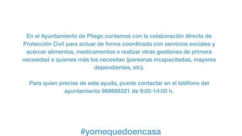 Colaboración del Ayuntamiento con Protección Civil